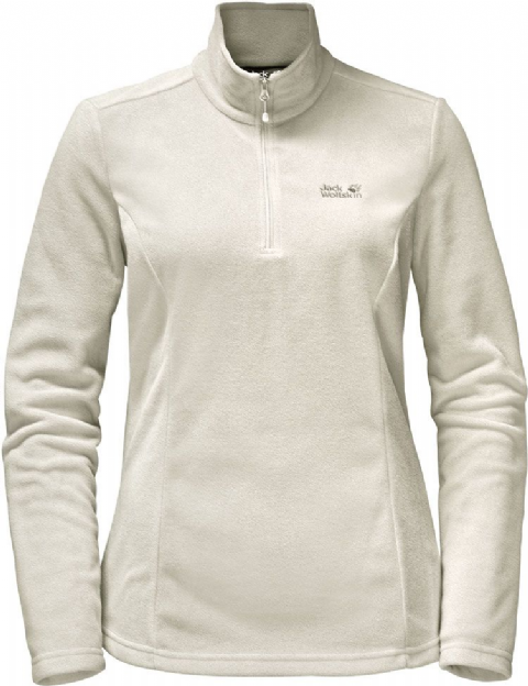 Jack Wolfskin Womens Gecko 1/4 Zip Pullover Fleece